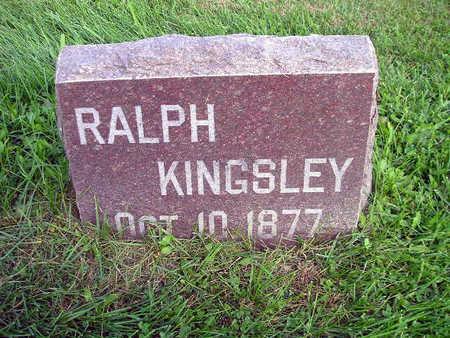 KINGSLEY, RALPH - Bremer County, Iowa | RALPH KINGSLEY