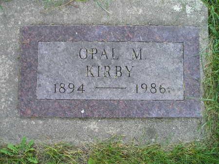KIRBY, OPAL M - Bremer County, Iowa | OPAL M KIRBY