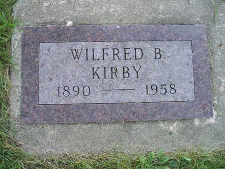 KIRBY, WILFRED B - Bremer County, Iowa   WILFRED B KIRBY