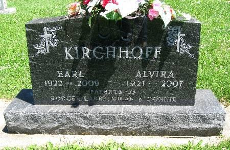 KIRCHHOFF, ALVIRA - Bremer County, Iowa   ALVIRA KIRCHHOFF