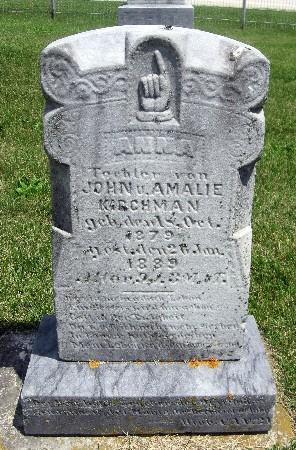 KIRCHMAN, ANNA - Bremer County, Iowa | ANNA KIRCHMAN