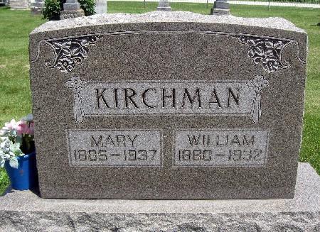 KIRCHMANN, WILLIAM - Bremer County, Iowa | WILLIAM KIRCHMANN