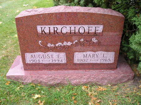 KIRCHOFF, AUGUST E - Bremer County, Iowa | AUGUST E KIRCHOFF
