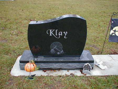KLAY, FAMILY - Bremer County, Iowa   FAMILY KLAY