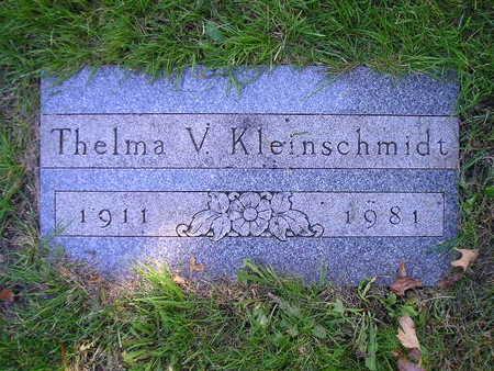 KLEINSCHMIDT, THELMA V - Bremer County, Iowa | THELMA V KLEINSCHMIDT