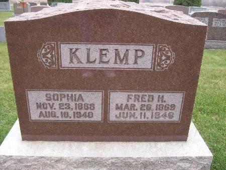 KLEMP, FRED H - Bremer County, Iowa | FRED H KLEMP