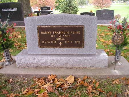 KLINE, BARRY FRANKLIN - Bremer County, Iowa | BARRY FRANKLIN KLINE