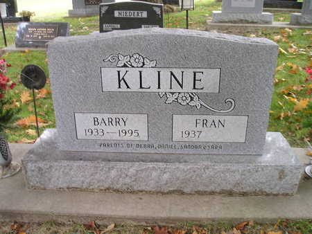 KLINE, FRAN - Bremer County, Iowa   FRAN KLINE