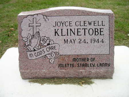 KLINETOBE, JOYCE - Bremer County, Iowa | JOYCE KLINETOBE