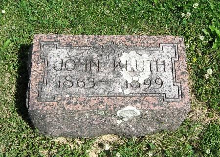 KLUTH, JOHN - Bremer County, Iowa | JOHN KLUTH