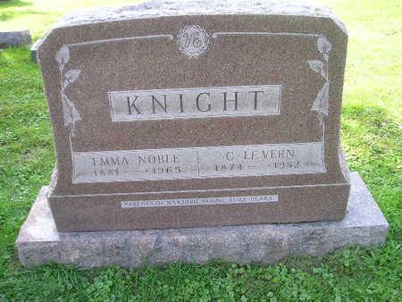 KNIGHT, C LE VERN - Bremer County, Iowa   C LE VERN KNIGHT