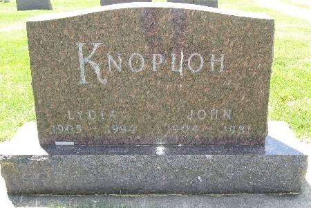 KNOPLOH, JOHN - Bremer County, Iowa | JOHN KNOPLOH