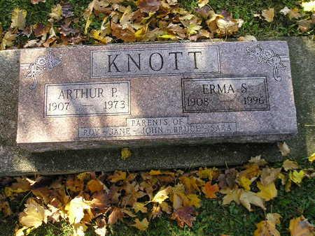 KNOTT, ARTHUR P - Bremer County, Iowa | ARTHUR P KNOTT