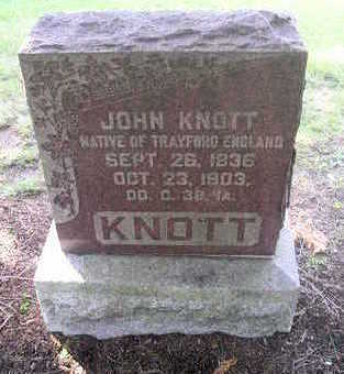 KNOTT, JOHN - Bremer County, Iowa | JOHN KNOTT