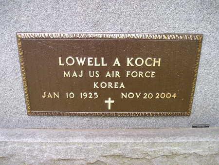 KOCH, LOWELL A - Bremer County, Iowa | LOWELL A KOCH