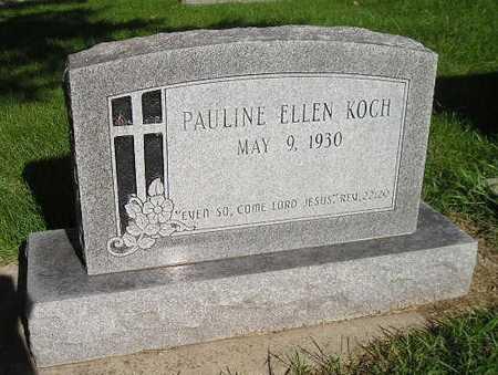 KOCH, PAULINE ELLEN - Bremer County, Iowa | PAULINE ELLEN KOCH
