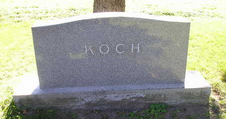 KOCH, WILLIAM - Bremer County, Iowa | WILLIAM KOCH