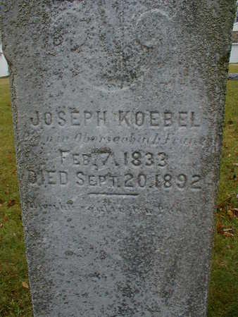 KOEBEL, JOSEPH - Bremer County, Iowa   JOSEPH KOEBEL