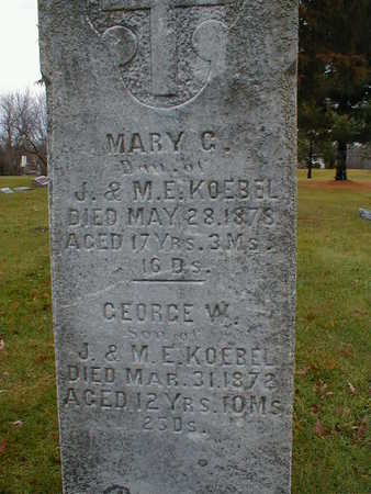 KOEBEL, MARY C - Bremer County, Iowa | MARY C KOEBEL