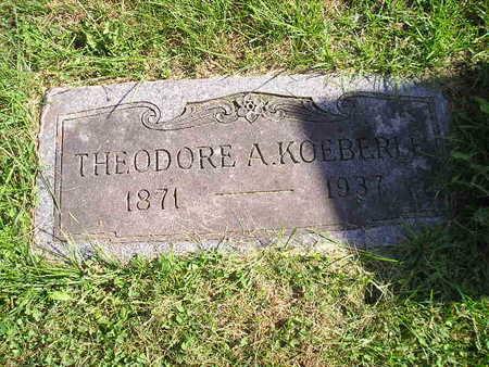 KOEBERLE, THEODORE A - Bremer County, Iowa | THEODORE A KOEBERLE