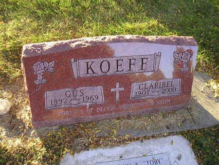 KOEFF, GUS - Bremer County, Iowa   GUS KOEFF