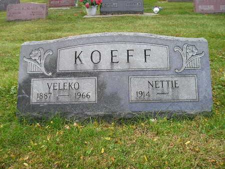 KOEFF, NETTIE - Bremer County, Iowa | NETTIE KOEFF