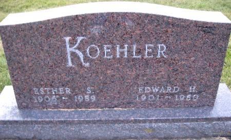 KOEHLER, ESTHER S - Bremer County, Iowa | ESTHER S KOEHLER