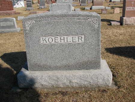 KOEHLER, FAMILY - Bremer County, Iowa | FAMILY KOEHLER