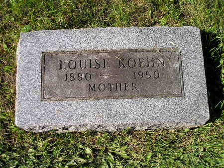 KOEHN, LOUISE - Bremer County, Iowa | LOUISE KOEHN