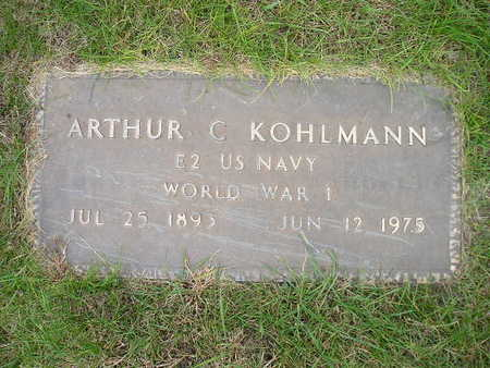 KOHLMANN, ARTHUR C - Bremer County, Iowa | ARTHUR C KOHLMANN