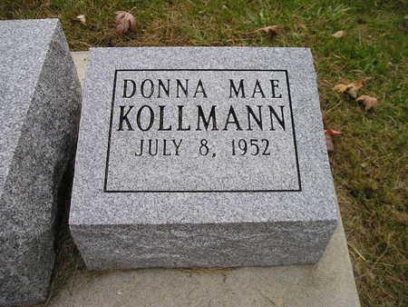 KOLLMANN, DONNA MAE - Bremer County, Iowa | DONNA MAE KOLLMANN