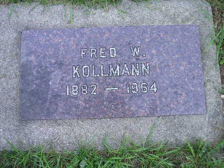 KOLLMANN, FRED W - Bremer County, Iowa | FRED W KOLLMANN