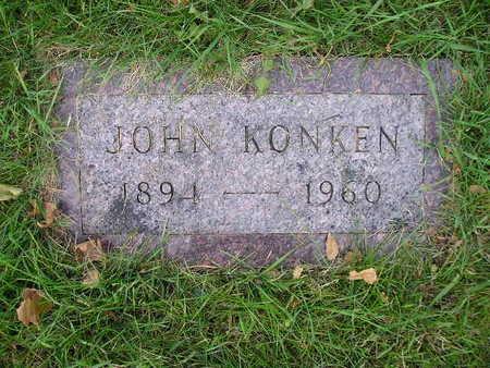KONKEN, JOHN - Bremer County, Iowa   JOHN KONKEN