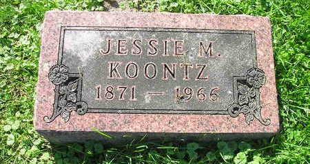 KOONTZ, JESSIE M - Bremer County, Iowa | JESSIE M KOONTZ