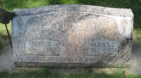 KORMAN, MARIAN L. - Bremer County, Iowa | MARIAN L. KORMAN