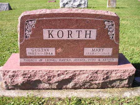 KORTH, GUSTAV - Bremer County, Iowa | GUSTAV KORTH