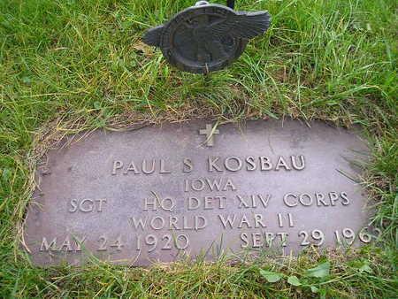 KOSBAU, PAUL S - Bremer County, Iowa | PAUL S KOSBAU