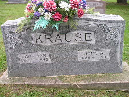 KRAUSE, JANE ANN - Bremer County, Iowa | JANE ANN KRAUSE