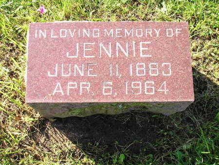 KRIEGER, JENNIE - Bremer County, Iowa | JENNIE KRIEGER