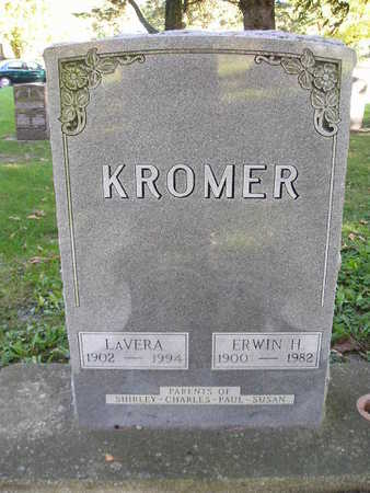 KROMER, ERWIN H - Bremer County, Iowa   ERWIN H KROMER