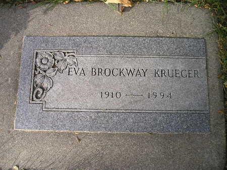 KRUEGER, EVA - Bremer County, Iowa | EVA KRUEGER