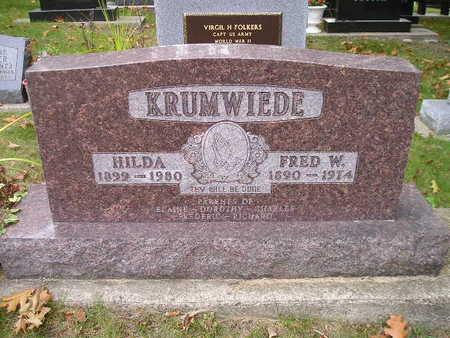 KRUMWIEDE, HILDA - Bremer County, Iowa | HILDA KRUMWIEDE