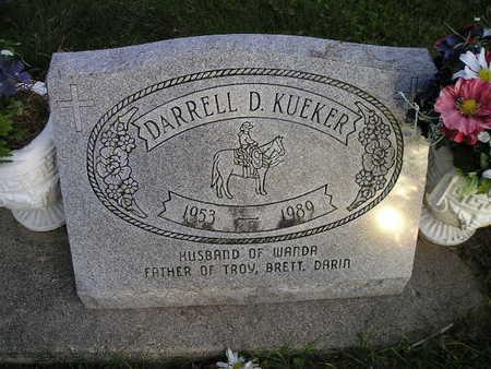 KUEKER, DARRELL D - Bremer County, Iowa | DARRELL D KUEKER