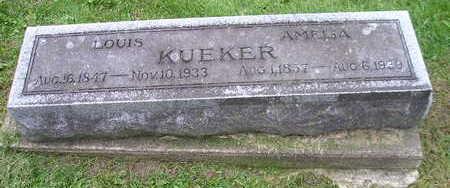 KUEKER, AMELIA - Bremer County, Iowa   AMELIA KUEKER