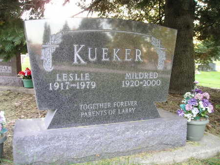 KUEKER, MILDRED - Bremer County, Iowa | MILDRED KUEKER