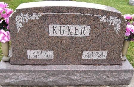KUKER, AUGUSTA - Bremer County, Iowa   AUGUSTA KUKER
