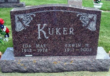 KUKER, ERWIN H - Bremer County, Iowa | ERWIN H KUKER