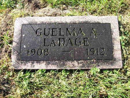 LADAGE, GUELMA A - Bremer County, Iowa | GUELMA A LADAGE