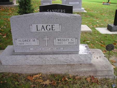 LAGE, WESLEY G - Bremer County, Iowa | WESLEY G LAGE