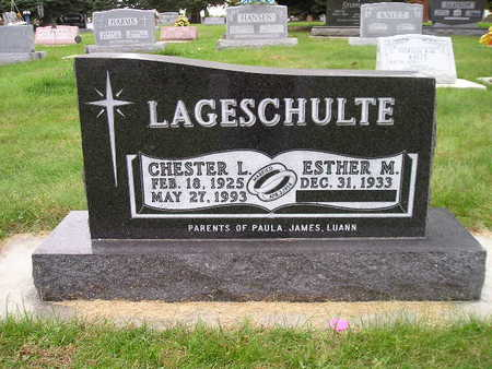 LAGESCHULTE, CHESTER L - Bremer County, Iowa | CHESTER L LAGESCHULTE